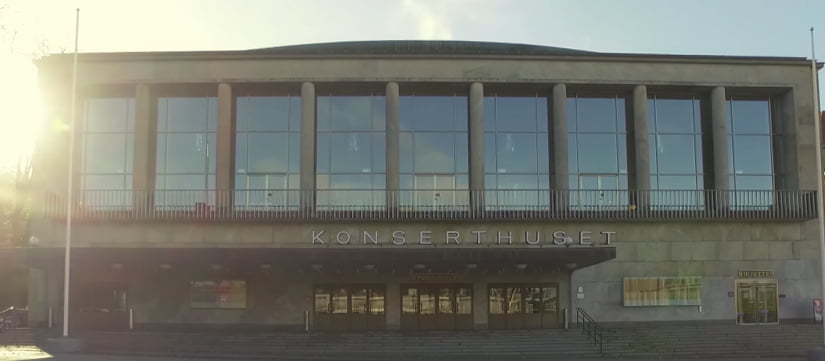 Göteborgs konserthus, monitor